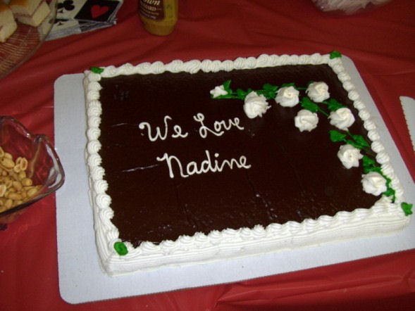 Nadine's Retirement Party 2010